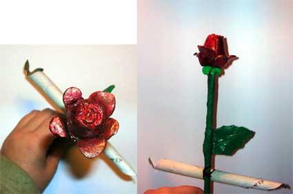 Una rosa que sera para siempre